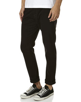 JET BLACK MENS CLOTHING ZIGGY PANTS - ZM-982JBLK