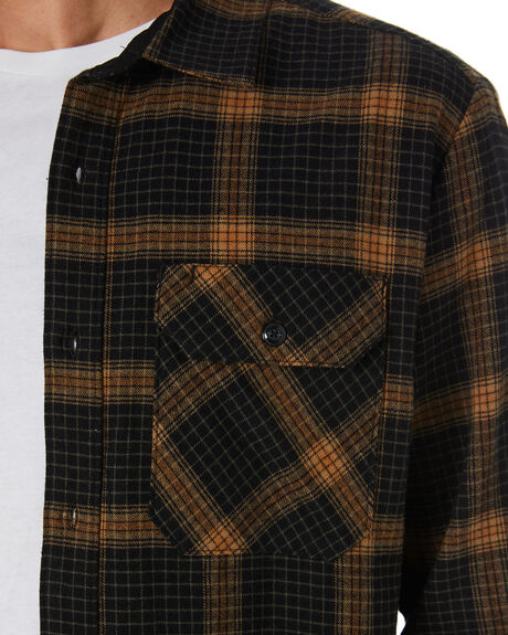 BLACK MENS CLOTHING VOLCOM SHIRTS - A0532002BLK