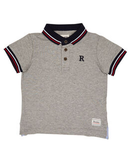 GREY MARLE KIDS TODDLER BOYS ROOKIE BY THE ACADEMY BRAND TOPS - R19S402GRYM