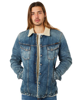 HEAVY USED MENS CLOTHING NUDIE JEANS CO JACKETS - 160568B26