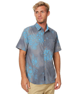 BLUE MENS CLOTHING DEPACTUS SHIRTS - AM050001BLU