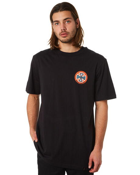 BLACK OUTLET MENS INDEPENDENT TEES - IN-MTC7124BLK