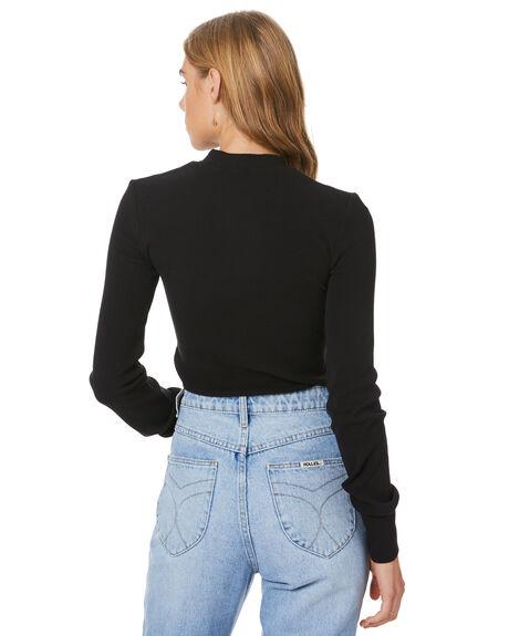 BLACK WOMENS CLOTHING SWELL TEES - S8204125BLACK