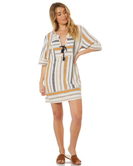 STRIPE WOMENS CLOTHING TIGERLILY DRESSES - T382426STR
