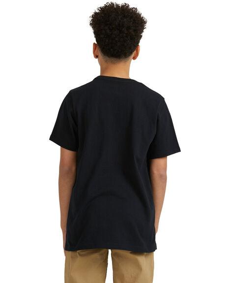 BLACK KIDS BOYS DC SHOES TOPS - UDBZT03325-KVJ0
