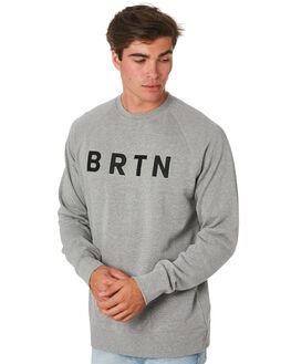 GRAY HEATHER MENS CLOTHING BURTON JUMPERS - 137171020