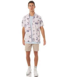 PINK FLORAL MENS CLOTHING BARNEY COOLS SHIRTS - 301-MC4PFLRL