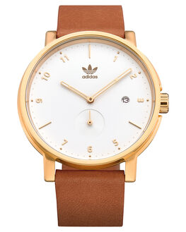 GOLD CREAM TAN MENS ACCESSORIES ADIDAS WATCHES - Z12-2548
