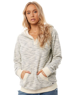 GREY HEATHER WOMENS CLOTHING O'NEILL JUMPERS - 4521502GREYH