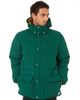 GREEN BRITISH KHAKI MENS CLOTHING THE NORTH FACE JACKETS - NF0A48LCEN5