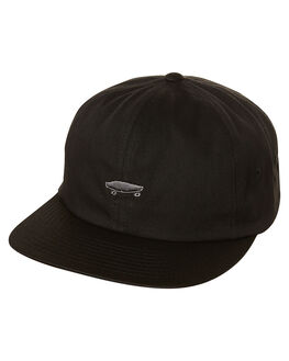 BLACK MENS ACCESSORIES VANS HEADWEAR - VN-0YXKBLKBLK