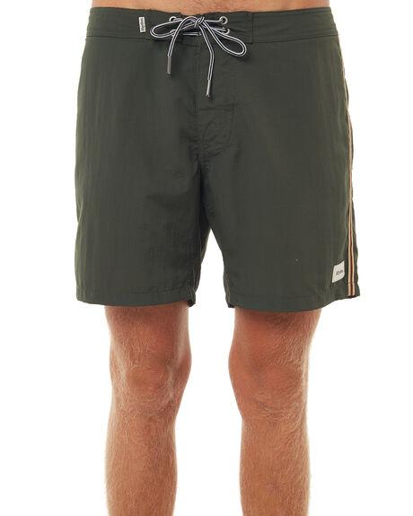 OLIVE MENS CLOTHING RHYTHM BOARDSHORTS - DEC17M-SS02OLI