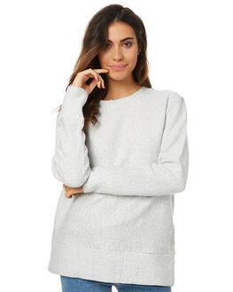 LIGHT MARLE WOMENS CLOTHING SWELL JUMPERS - S8173541LMRL