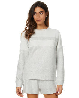 LIGHT MARLE WOMENS CLOTHING SWELL JUMPERS - S8173548LMRL