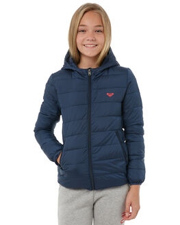 DRESS BLUES KIDS GIRLS ROXY JACKETS - ERGJK03050BTK0