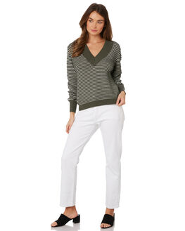 SAGE W WHITE WOMENS CLOTHING THE FIFTH LABEL KNITS + CARDIGANS - 40190501SAGE