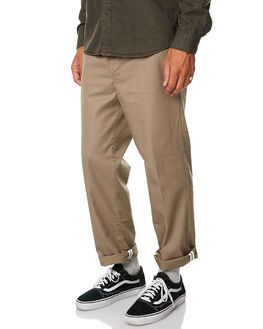 KHAKI MENS CLOTHING GLOBE PANTS - GB01736011KHA