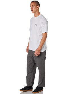 GREY GREEN MENS CLOTHING POLAR SKATE CO. PANTS - PSC-93CANVAS-GYGR