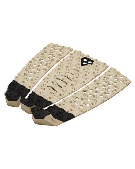SAND BLACK BOARDSPORTS SURF GORILLA TAILPADS - GTR06SBLK
