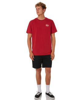 RED CLAY MENS CLOTHING DEPACTUS TEES - D5193004RDCLY