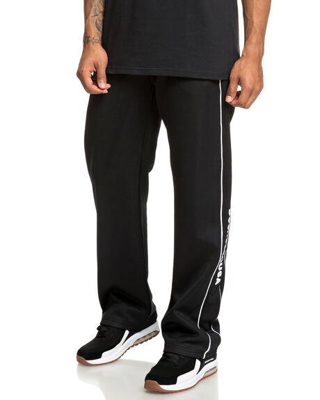 BLACK MENS CLOTHING DC SHOES PANTS - EDYFB03060-KVJ0