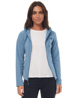 PROV BLUE WOMENS CLOTHING THE NORTH FACE JACKETS - NF0A2VDHUBPPBLU