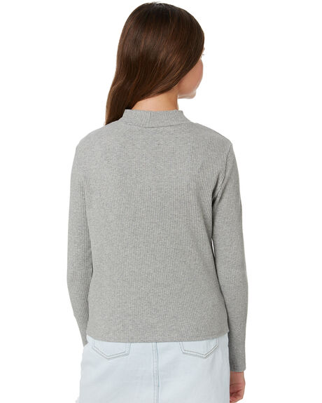 LT GREY MARLE OUTLET KIDS SWELL CLOTHING - S6194103GRYMA