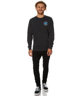 OD BLACK MENS CLOTHING SANTA CRUZ JUMPERS - SC-MFB7506ODBLK