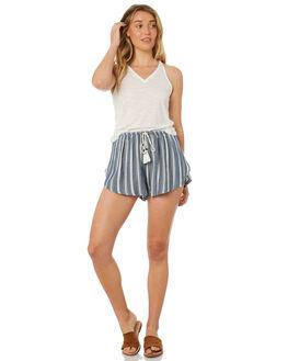 NAVY STRIPE WOMENS CLOTHING O'NEILL SHORTS - 4722104NAVY