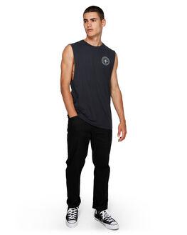 FLINT BLACK MENS CLOTHING ELEMENT SINGLETS - EL-193272-IFL
