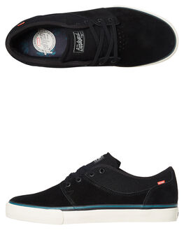 BLACK GREEN MENS FOOTWEAR GLOBE SNEAKERS - GBMAHALO-20364