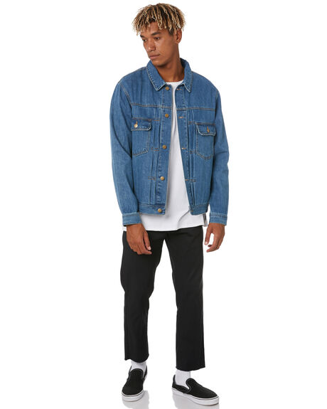 WORN INDIGO OUTLET MENS SWELL JACKETS - S5203382WRNIN