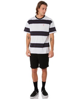 BLACK MENS CLOTHING GLOBE SHORTS - GB01916005BLK