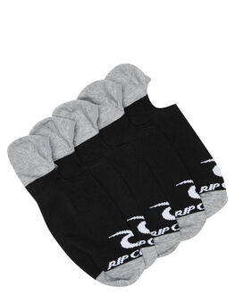 BLACK MENS CLOTHING RIP CURL SOCKS + UNDERWEAR - CSODH10090