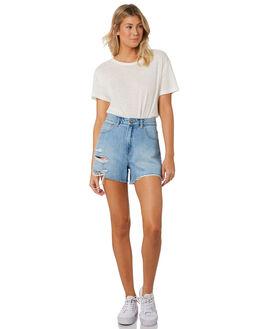 LOTTA BLUE WOMENS CLOTHING A.BRAND SHORTS - 715894603