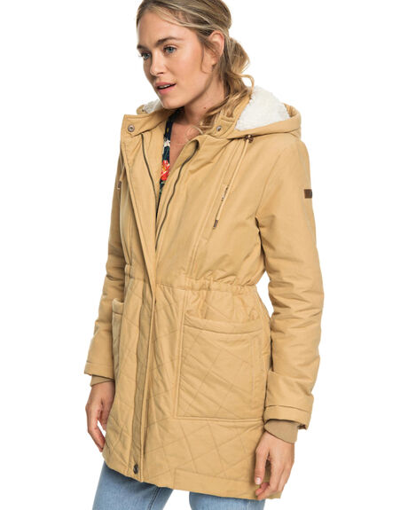 CURRY WOMENS CLOTHING ROXY JACKETS - ERJJK03231-TJQ0