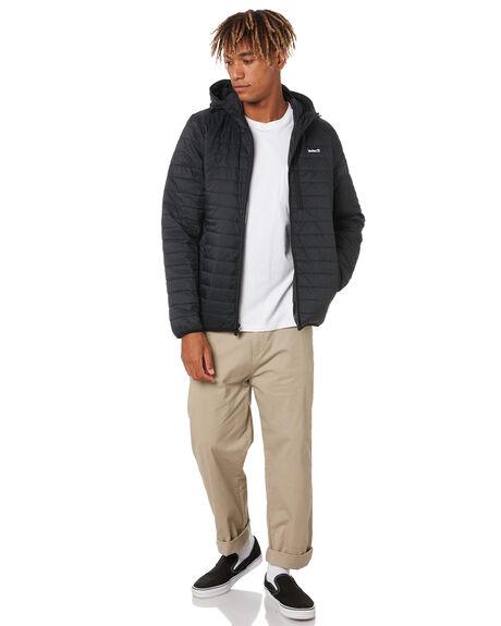 BLACK MENS CLOTHING HURLEY JACKETS - CU2510010