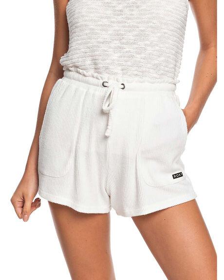SNOW WHITE WOMENS CLOTHING ROXY SHORTS - ERJNS03275-WBK0