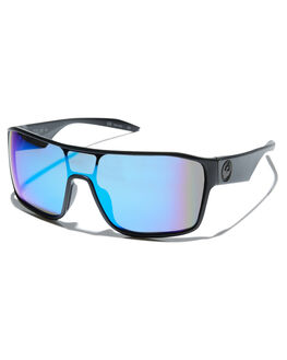 BLACK BLUE ION MENS ACCESSORIES DRAGON SUNGLASSES - 39643-040BLKBL