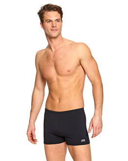 BLACK MENS CLOTHING ZOGGS SWIMWEAR - 4594190BLK
