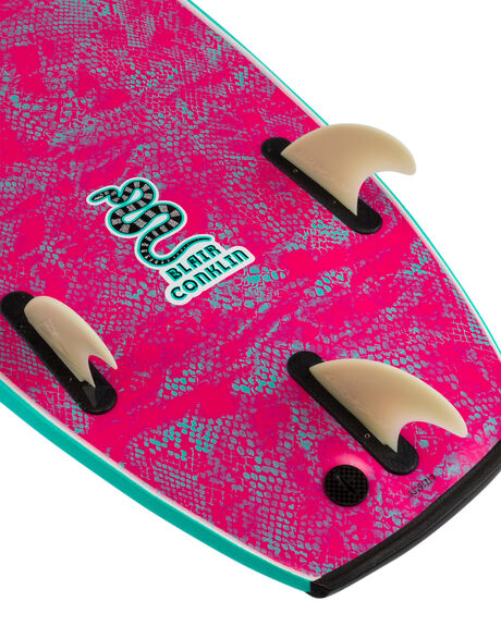 TURQUOISE BOARDSPORTS SURF CATCH SURF SOFTBOARDS - ODY54-BCTQ20