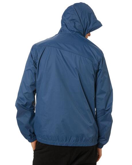 GREY BLUE MENS CLOTHING VOLCOM JACKETS - A15117G0GBL