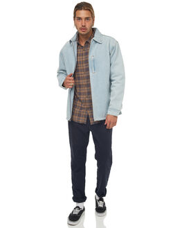 BONE BLUE MENS CLOTHING RUSTY JACKETS - JKM0385BOB