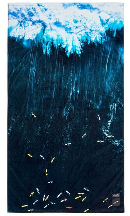 OCEAN BLUE MENS ACCESSORIES SLOWTIDE TOWELS - ST103OBLU