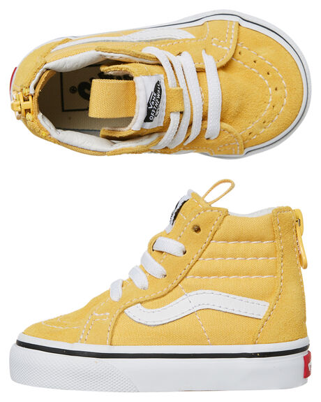 YELLOW KIDS GIRLS VANS FOOTWEAR - VNA32R3U4LYEL