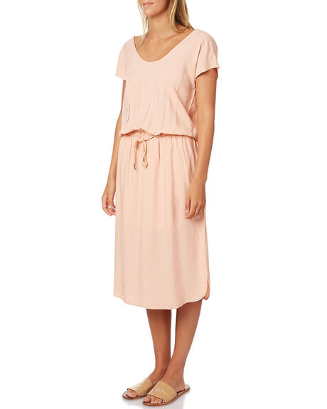 PEACH WOMENS CLOTHING SWELL DRESSES - S8161466PCH