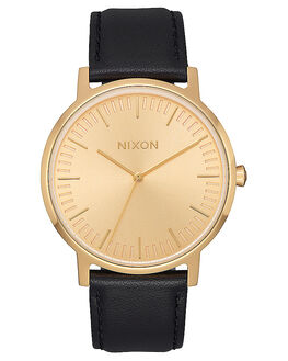 ALL GOLD BLACK MENS ACCESSORIES NIXON WATCHES - A1058510