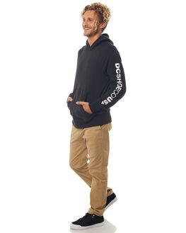 BLACK MENS CLOTHING DC SHOES JUMPERS - ADYFT03190KVJ0