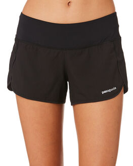 BLACK WOMENS CLOTHING PATAGONIA ACTIVEWEAR - 24654BLK