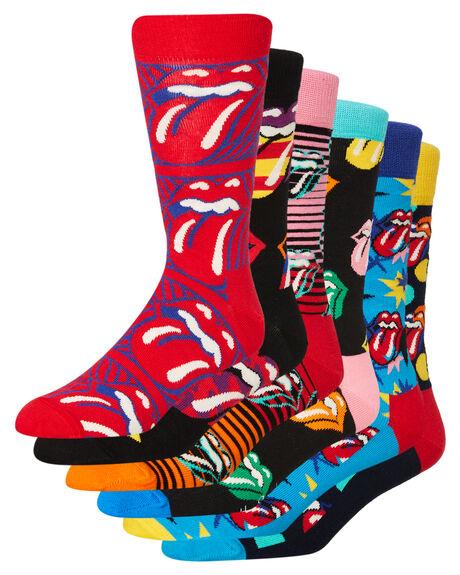 ASSORTED MENS CLOTHING HAPPY SOCKS SOCKS + UNDERWEAR - XRLS10-0100MULTI